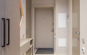 porta blindata interno